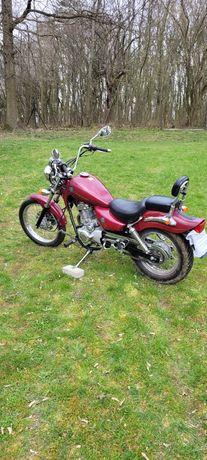 Motocykl Chopper Rex