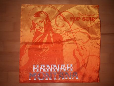 Poszewka na poduszkę Hannah Montana 40x40cm