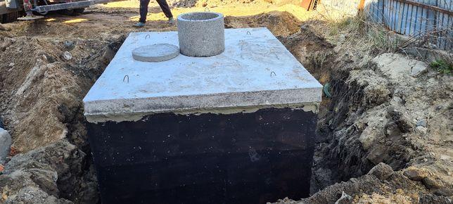 Szamba-Montaż od A-Z ,zbiorniki betonowe,zbiornik betonowy na szambo