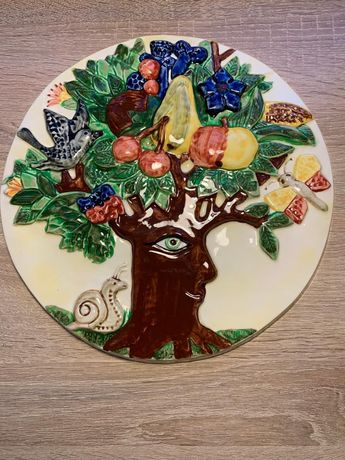 Goebel talerz dekoracyjny lato