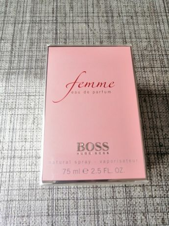 Femme by Hugo Boss original - EDP 75ml - novo e selado