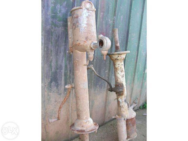 2 Bombas de gasolina antiga para restaurar. Vintage.