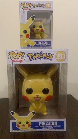 Funko pop pokemon pikachu 353 grande ou pequeno