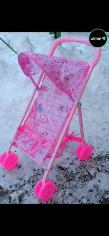 Металлическая коляска для куклы 6632 H MELOGO 64 см