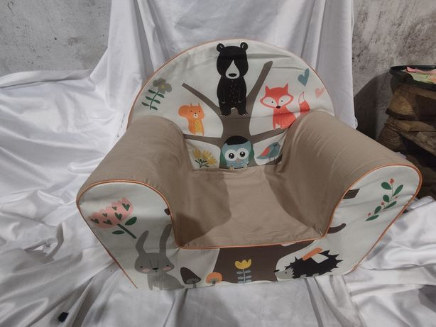 Fotelik, pufa, fotel miękki dla dziecka