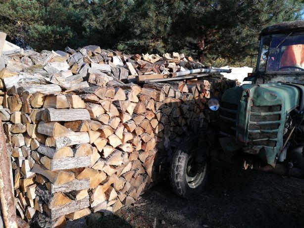 Drewno kominkowe i opałowe suche