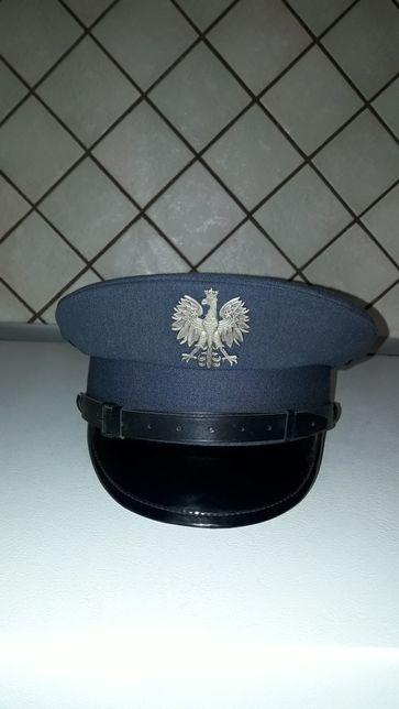 Czapka garnizonowa Służby Więziennej