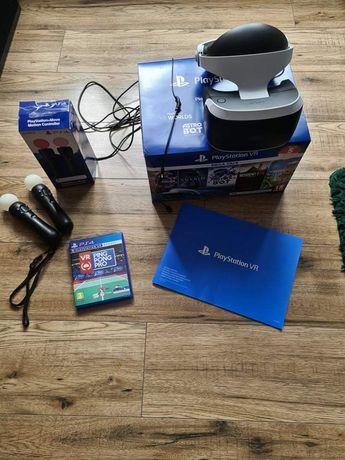 Play station VR V2 + Ps Move + ping pong pro vr! Gwarancja! Kamera !
