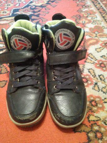 Демисезонные ботинки-хайтопы