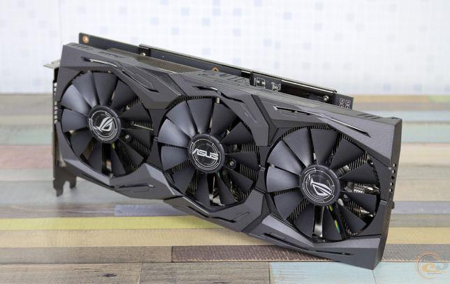 Видеокарта AMD Radeon RX 580 8GB Asus Strix Powercolor