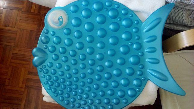 Tapete Peixe para banheira / poliban de casa de banho