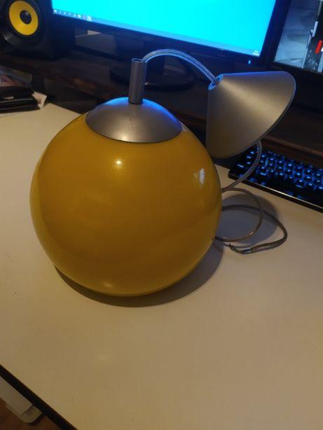 lampa sufitowa zółta