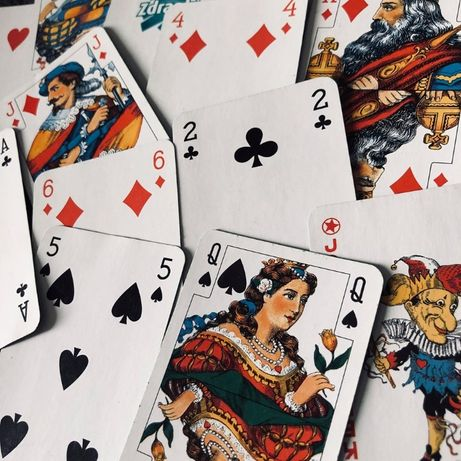 limitowana edycja kart do gry zdrapki
