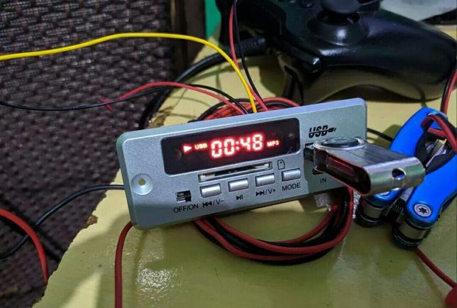 беспроводной Bluetooth5.0 MP3 декодер. встраиваемый модуль FM, USB, TF