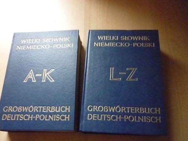 Wielki słownik niemiecko-polski 2 tomy