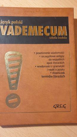 Vadenecum język polski  powtórka ściąga Greg epoki literatura książka