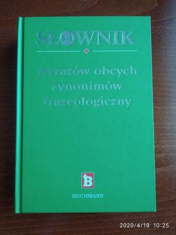 Słownik wyrazów obcych i synonimów frazeologicznych
