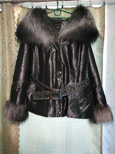 Женская куртка зимняя.48р.