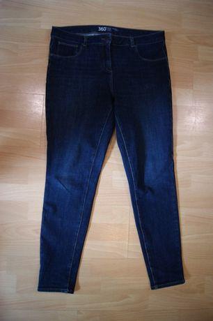 46 xl spodnie jeansy ciemne