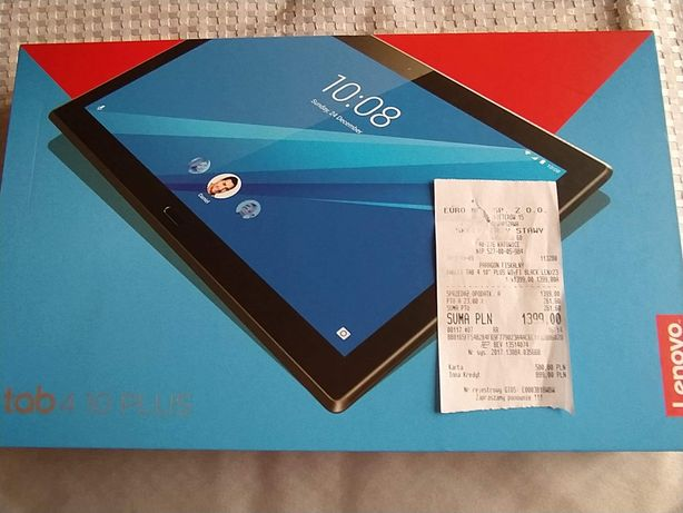 Tablet Lenovo tab 4 10 PLUS
