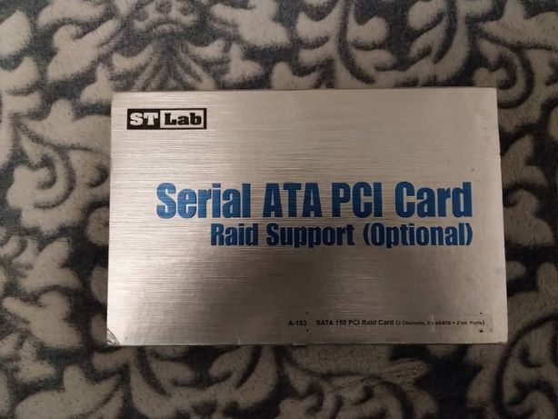 STLab A-183 (Serial ATA PCI Card)