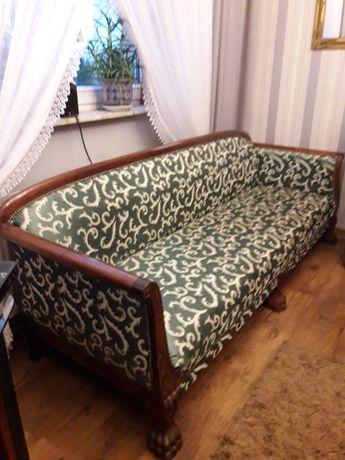 Sofa i 2 fotele w stylu retro