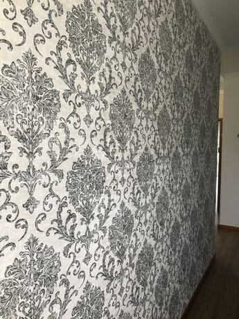 Aplicação papel de parede