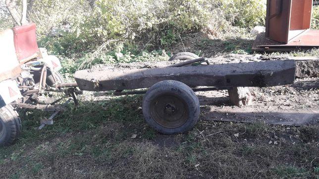 Причеп на міні-трактор