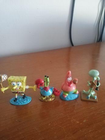 Figuras em pvc do Spongebob da viacom