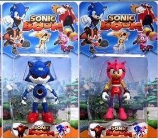Zestaw dwóch figurek postaci z bajki Sonica Sonic Zabawka