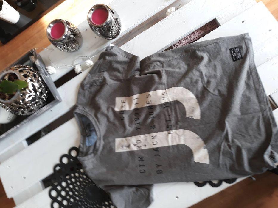 Koszulka, T-shirty Jack and Jones kolor szary Radom - image 1