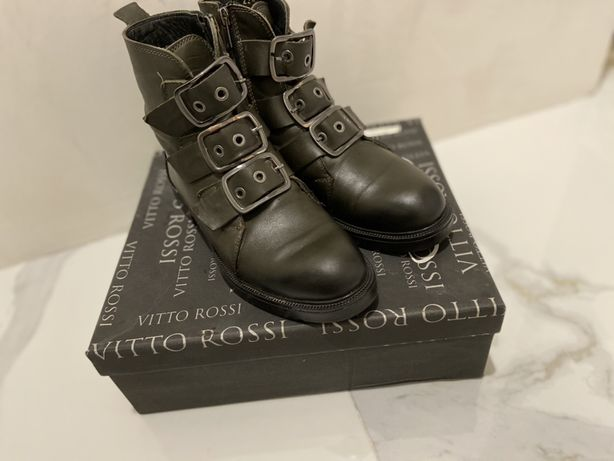 Ботинки нат кожа vitto rossi 38 размер