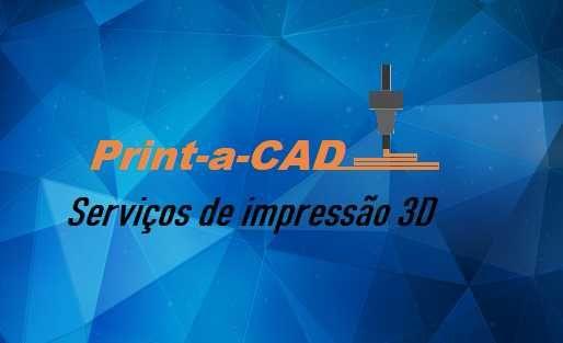 Print-a-CAD, Serviços de impressão 3D e prototipagem.