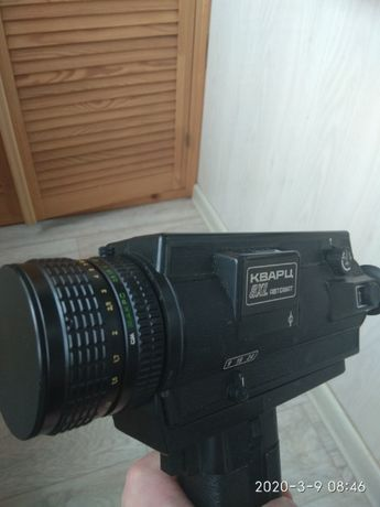 Кинокамера Зенит Кварц-8XL