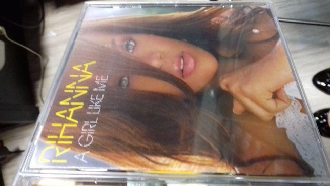 rihanna a girl like me cd, sklep, folia