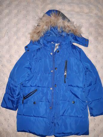 Куртка тёплая зима, размер 120.