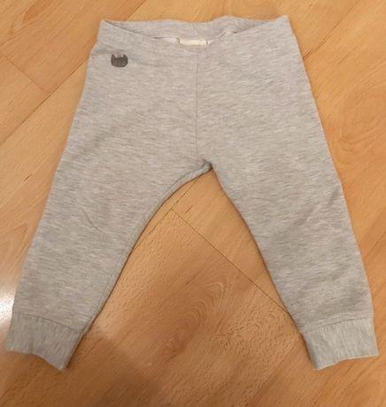 Dresowe spodnie 3/4 marki ZARA rozmiar 92 18/24 m-ce