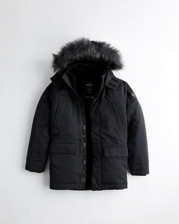 Оригинал!!! Hollister парка куртка зимняя пуховик