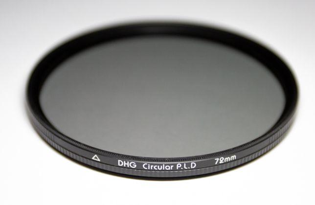 Filtry Marumi UV Polaryzacyjny Polar CPL 72mm DHG Circular PL(D) Slim