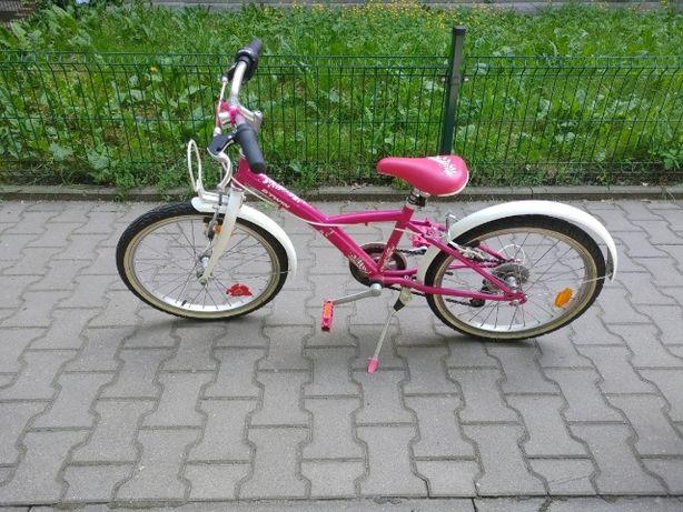 Rowerek 20' Btwin dla dziewczynki rower