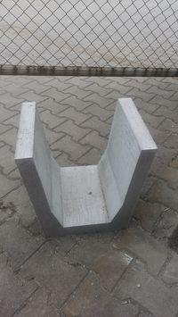 Koryto betonowe trapezowe ciekowe zbrojone odwodnienie