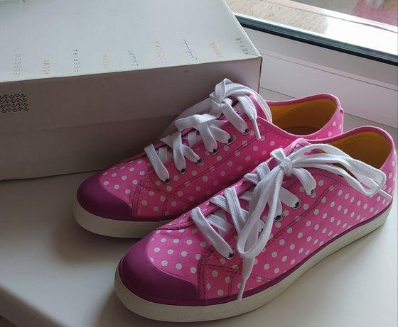 Новые кеды кроссовки туфли Geox для девочки р. 39