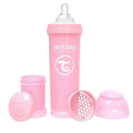 Антиколиковпя бутылочка Twistshake с соской, 260 мл