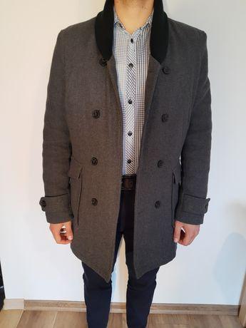 Płaszcz męski zimowy elegancki wizytowy i na co dzień
