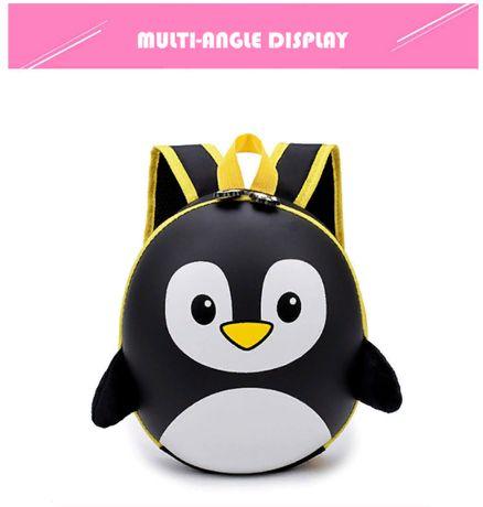 Детский каркасный рюкзак портфель Пингвин Новая коллекция