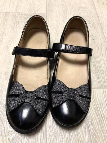 Туфли для девочки. Туфли кожаные для девочки