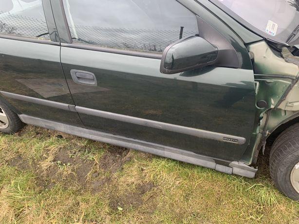 Drzwi prawe przód Opel Astra G Z380