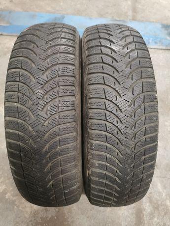Dwie opony zimowe Michelin 165/70R14.
