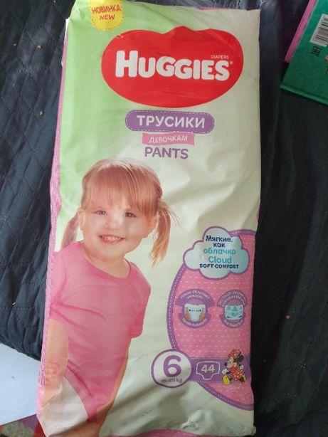 Huggies трусики 6 (15-25кг) 44шт 1 пачка