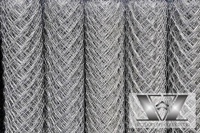 Siatka ogrodzeniowa ocynkowana drut 2,8 oczko 6,5x6,5 h-125 Klasa 1